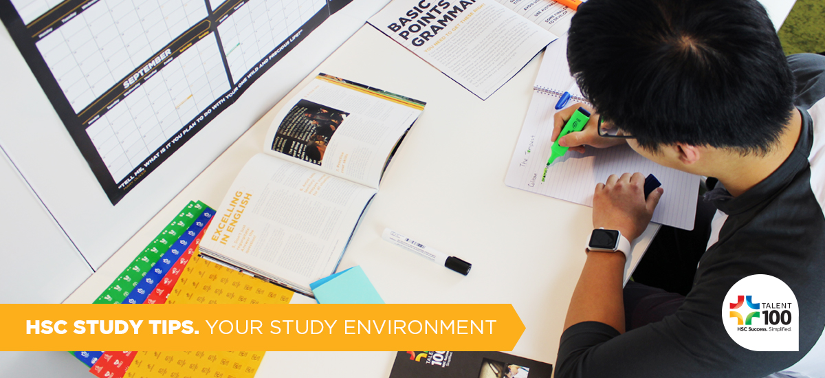 How To Create The Best HSC Study Environment